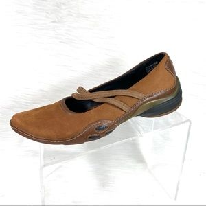 Privo Mary Jane Shoes Brown Leather Size 9.5 M